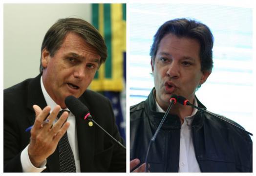 Bolsonaro e Haddad crescem, Alckmin sobe e Marina recua I Galeria BN