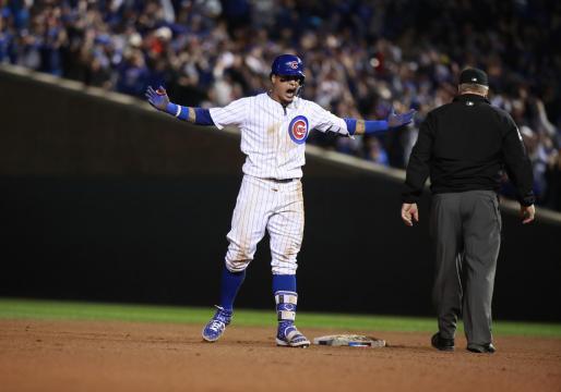Javy Báez intentó ser el héroe para Chicago. www.remonews.com
