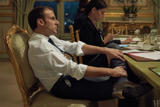 """I Appreciate the Forthright Conversations"""": Emmanuel Macron Opens ... - vanityfair.com"""