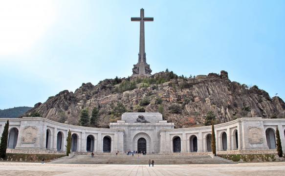 El Valle de los Caídos se ha convertido en uno de los lugares más controvertidos del debate en España