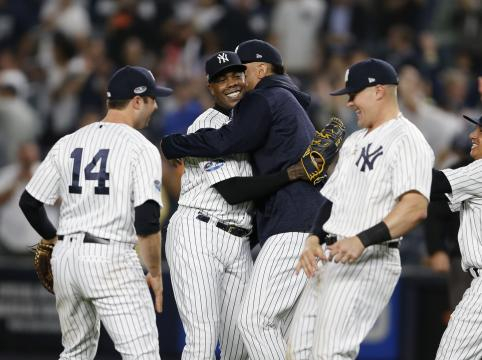 Los Yanks se medirán contra Boston en la serie divisional. www. washingtonpost.com