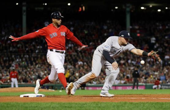 Los Yanks pudieron atacar el bullpen de Boston en la derrota de 5-4. www.syfeed.com