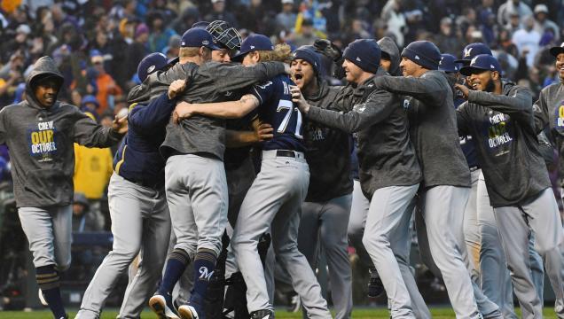 Los Brewers dominaron pro completo a los Rockies en la NLDS. www. jsonline.com