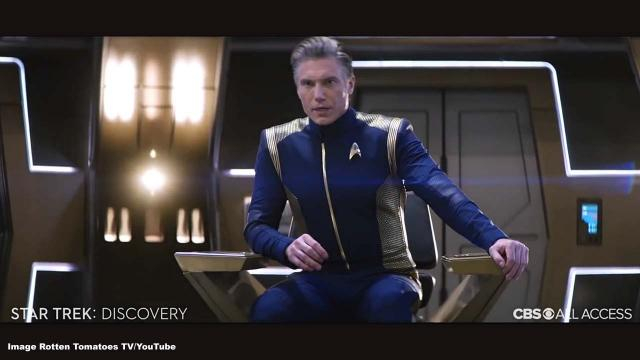 There's a new captain on the Discovery in season 2 of