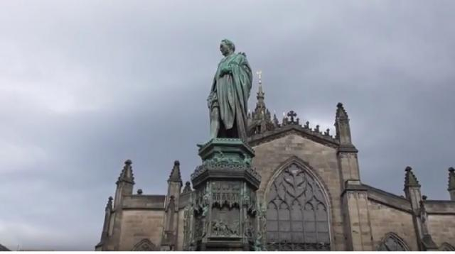 Visit Edinburgh, Scotland: 12th Century St Giles Cathedral [Image courtesy – Sheila Simkin YouTube video]