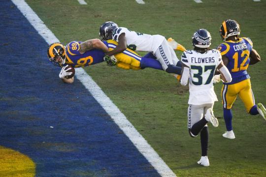 Los Rams son una máquina de anotar puntos. www,fieldgulls.com