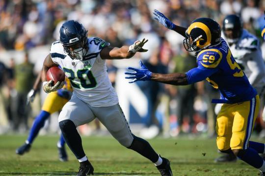 Los Seahawks sufrieron un duro golpe a sus aspiraciones de playoff. www.fieldgulls.com