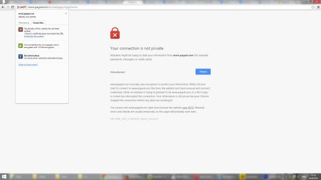 Una finestra informerà l'ignaro navigatore qualora si trovi su di un sito internet ingannevole