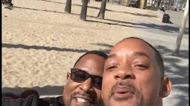 Will Smith and Martin Lawrence announce Bad Boys 3 coming to theaters [Image credit – Sports and News YouTube video]