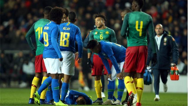 Brésil : Neymar sort sur blessure à une semaine de PSG-Liverpool