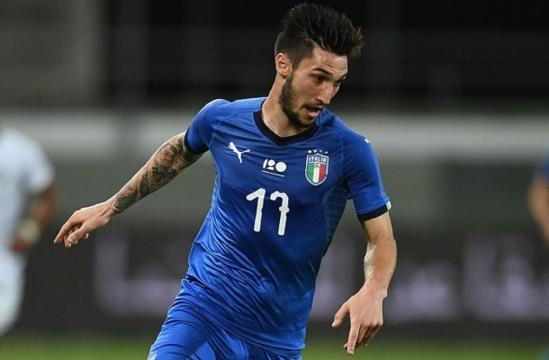 Matteo Politano, match-winner dell'amichevole vinta dall'Italia per 1-0 sugli Usa (Inter News)