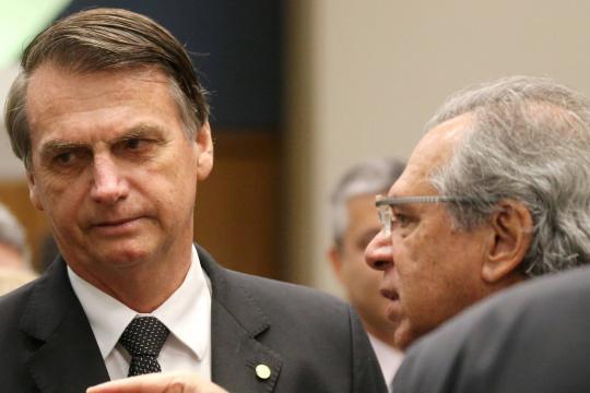 Bolsonaro e Guedes têm uma difícil missão pela frente
