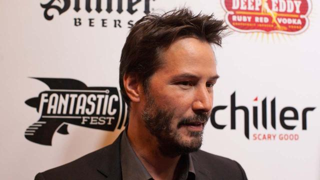 Keanu Reeves will be the voice of one of the characters in Disney/Pixar's