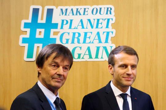 La démission de Hulot, ou les limites du discours écologique de Macron - parismatch.com