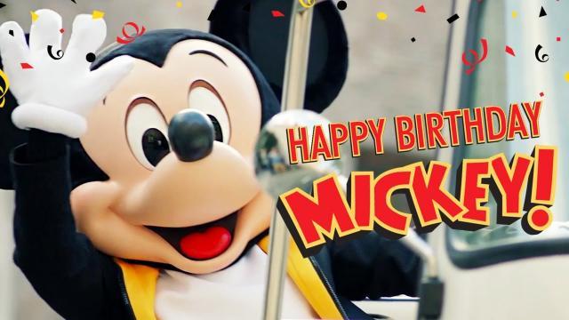 Mickey a 90 ans, Happy Birthday