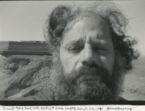 Autorretrato de Allen Ginsberg