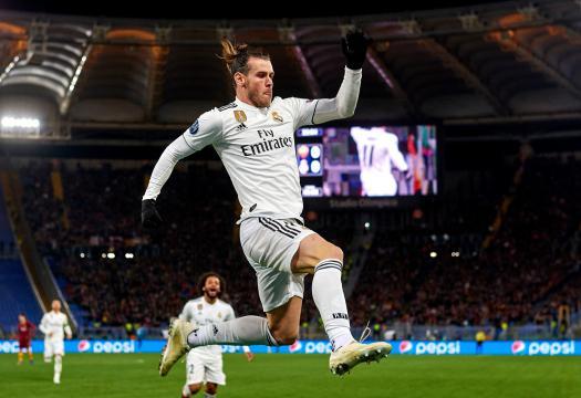 Bale regresó al gol en Roma. www.dbsportsonline.com