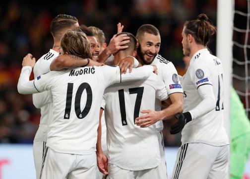 Le Real Madrid croque la Roma et s'assure la première place du groupe