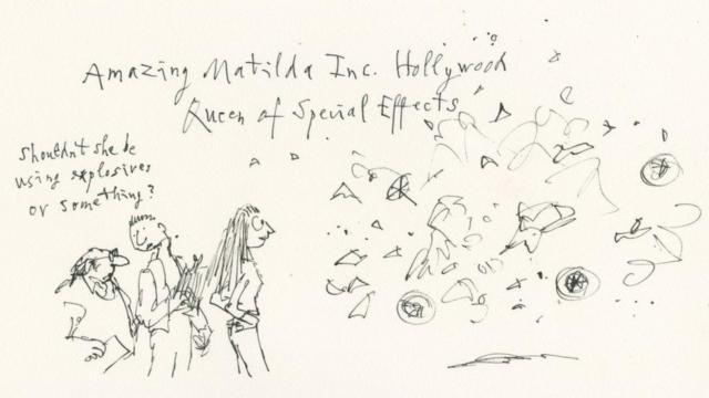 Matilda es artista de efectos especiales en Hollywood