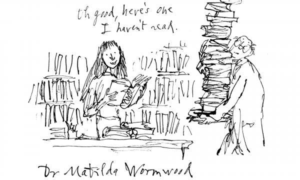 Matilda es directora ejecutiva de la Biblioteca británica