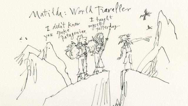 Matilda es exploradora y conocedora de culturas
