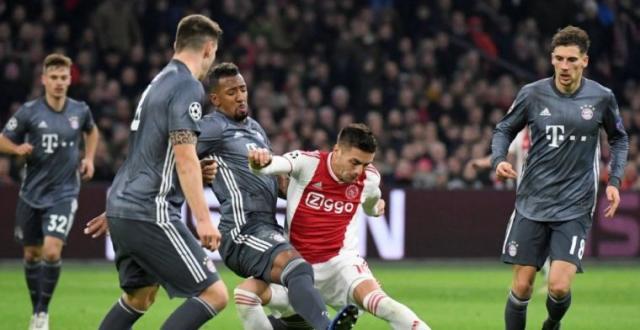Ajax casi se quedó con el primer lugar de grupo. www.bleacherreport.com