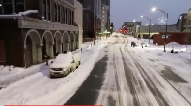 Deadly winter storms put Virginia, North Carolina in state of emergency. [Image source/TODAY YouTube video]