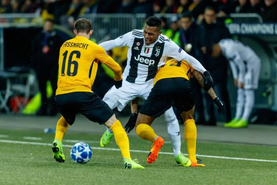 La Juve se ahogo en Suiza contra el Young Boys. www.blackwhitereadallover.com