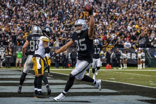 Los Raiders pudieron haber dado una daga letal a la temporada de Pittsburgh. www.justblogbaby.com