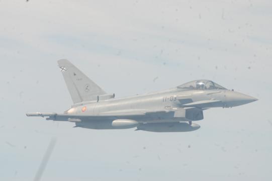 El Eurofighter podría ser el único avión de combate del EDA cuando el F-18 sea retirado