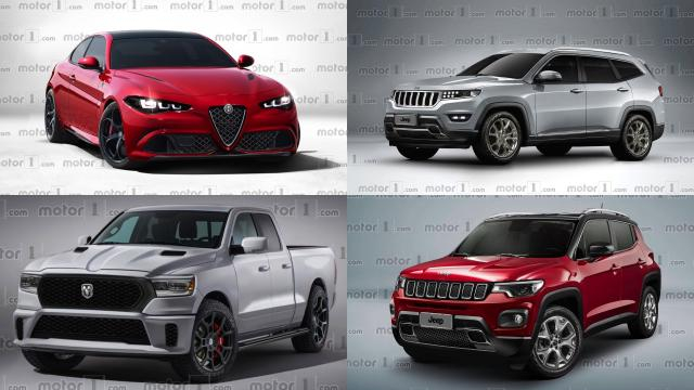 All 26 New Vehicles FCA Has Planned For The Next Five Years - motor1.com