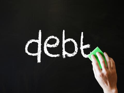 Classroom debt continues to hold Americans back (source: Wipe our Debt, CC BY-SA 2.0)