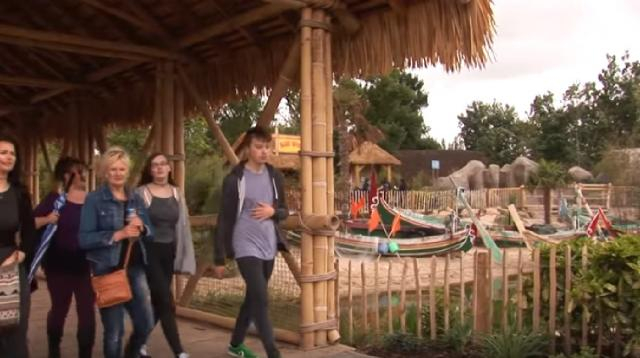Visitors in Chester Zoo. [Image source/Liverpool TV YouTube video]