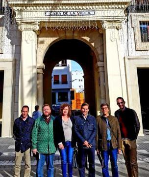 La Gestora Electoral de Demòcrates Valencians reunida en Pego
