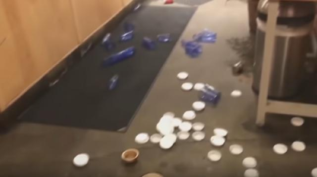 Aftermath of back-to-back earthquakes in Anchorage, Alaska. [Image source/CityNews Toronto YouTube video]