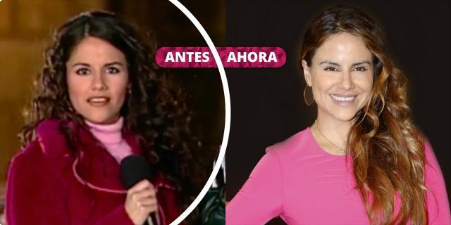 Así ha cambiado Mónica Hoyos: De 'Karaoke' y 'El precio justo' a ... - bekia.es