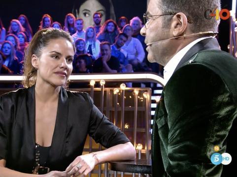 Mónica Hoyos contesta enfadada a Jorge Javier