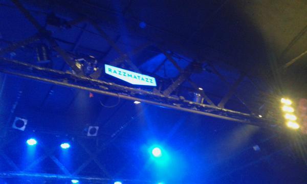 La sala Razzmatazz 2 presenció el concierto de Larkin Poe