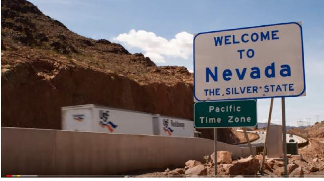 The Truth about the Nevada Triangle. [Image source/ShantiUniverse YouTube video]