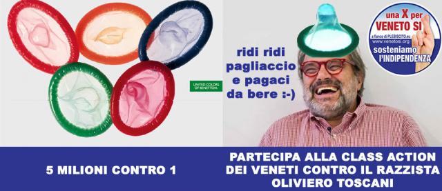 CLASS ACTION DEL POPOLO VENETO CONTRO IL RAZZISTA OLIVIERO TOSCANI ... - venetosi.org