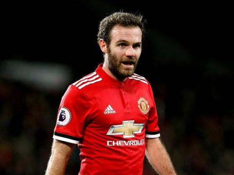 Juan Mata currently plays for Manchester United