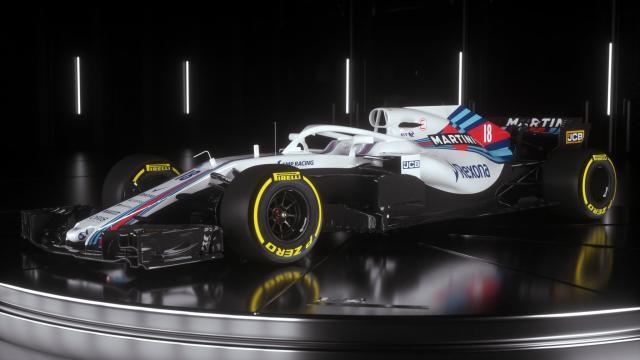 La Williams Martini Racing Fw 41