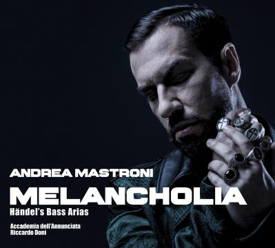'Melancholia,' Andrea Mastroni's Händel arias CD—just released in Milan. Photo by Nicola Garzetti, courtesy of the artist, used with permission.