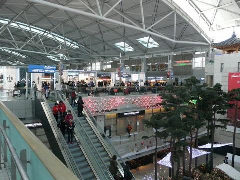 Seoul airport (Image credit – Piotrus, Wikimedia Commons)