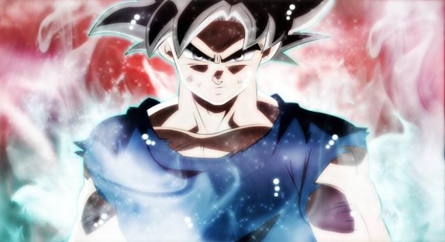 Dragon Ball Super Goku ultra instinto perfeccionado