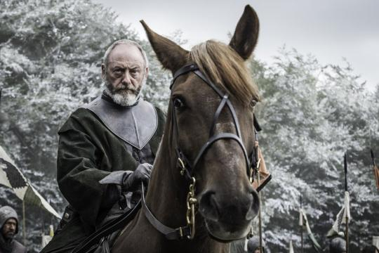 It appears Ser Davos en Game of Trones