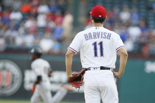 Los HR fueron la kriptonita de Darvish en 2018. usatoday.com.