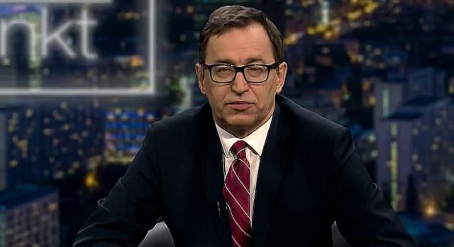 Prezes IPN-u Jarosław Szarek, udziela wywiadu dla telewizji (scrn YT)