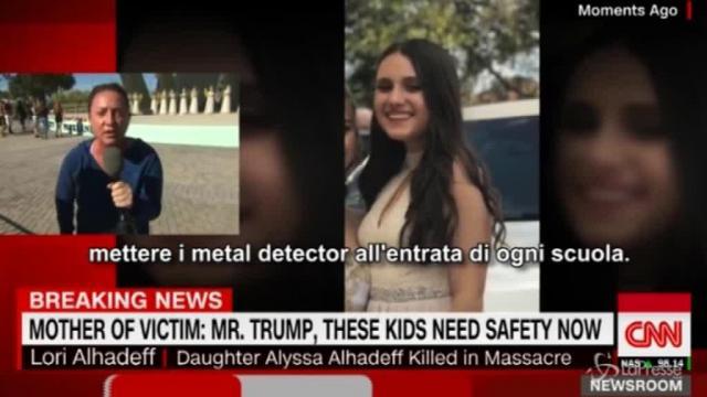 Strage in Florida, la madre di una vittima