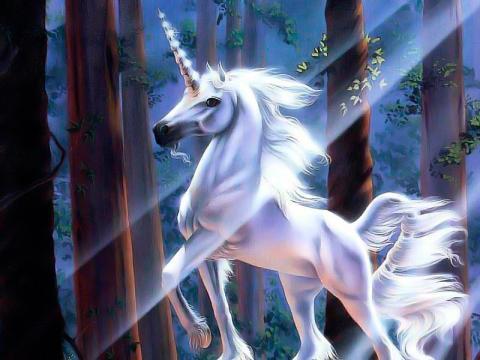 Unicornio, de Sue Dawe - Seres Mitológicos y Fantásticos - seresmitologicos.net